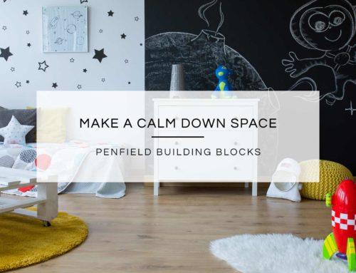 Make a Calm Down Space