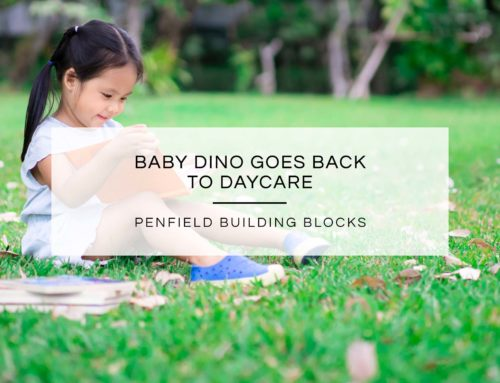 Baby Dino Goes Back To Daycare