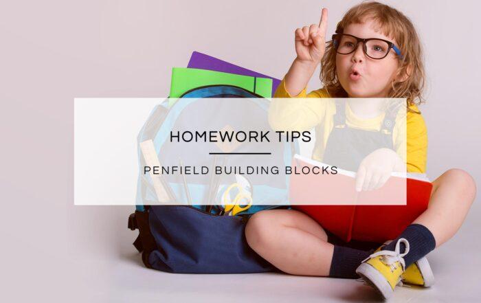 Homework Tips | Penfield Building Blocks