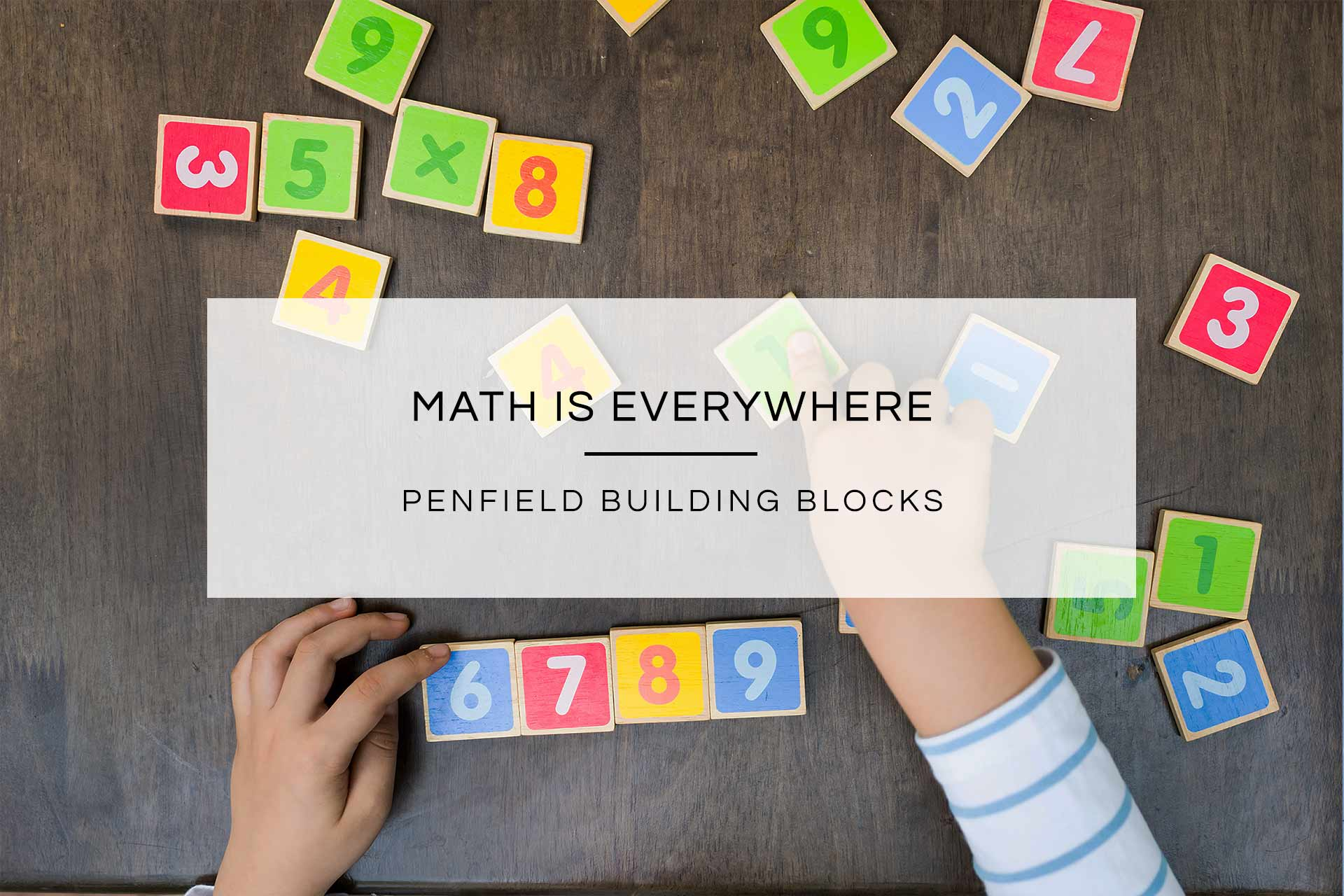 Math is Everywhere | Penfield Building Blocks