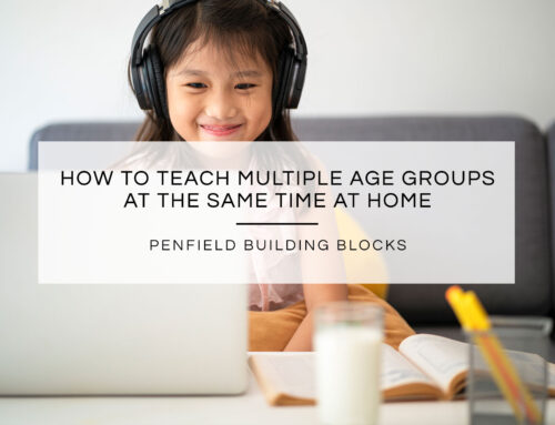 How to Teach Multiple Age Groups at the Same Time at Home