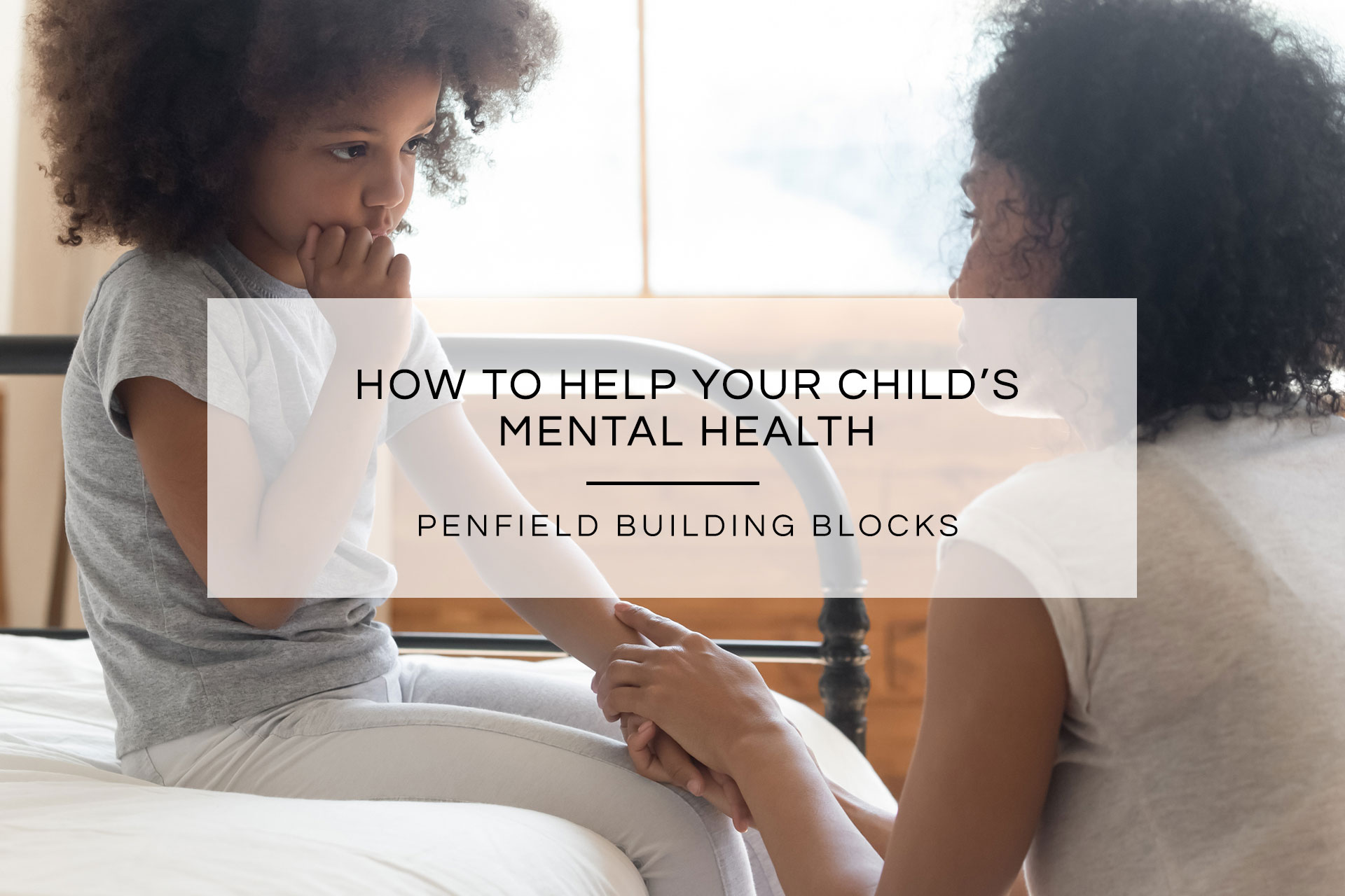 Help Your Child's Mental Health | Penfield Building Blocks