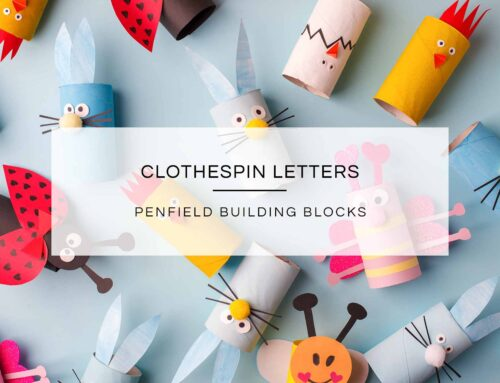 Clothespin Letters