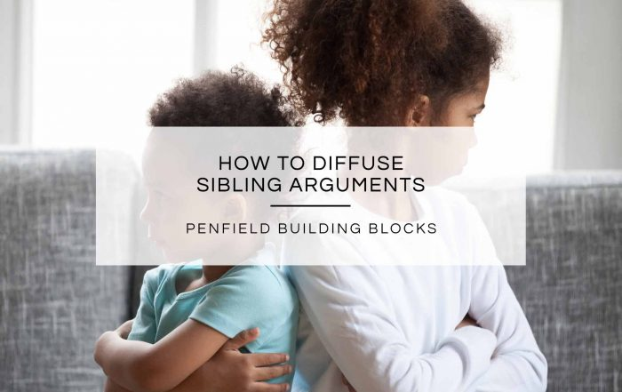 How to Diffuse Sibling Arguments | Penfield Building Blocks